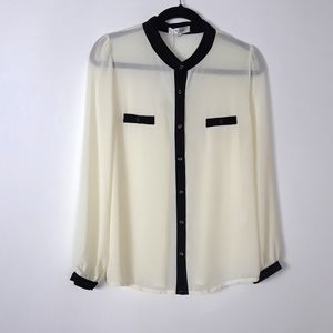 The Style London Large Cream Blouse | New …